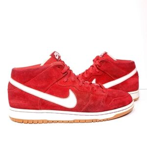 "Nike Dunk SB Mid ""Brickhouse White"" men's 13"